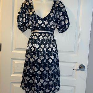 Zara Basic Floral Dress